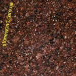 Плитка полированная  Токовский  Carpazi -  коричнево-вишневый гранит